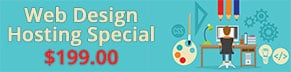 Web Design Hosting Special