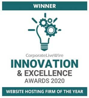 Website Hosting Firm of the Year 2020